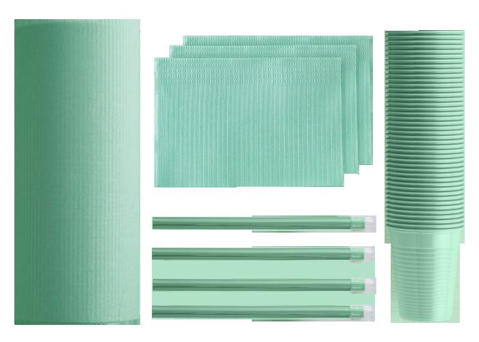 prodotti monouso verdi