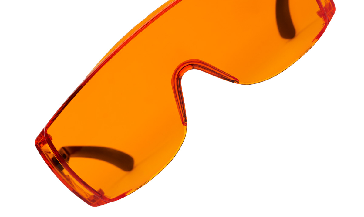 Spheric Glasses orange