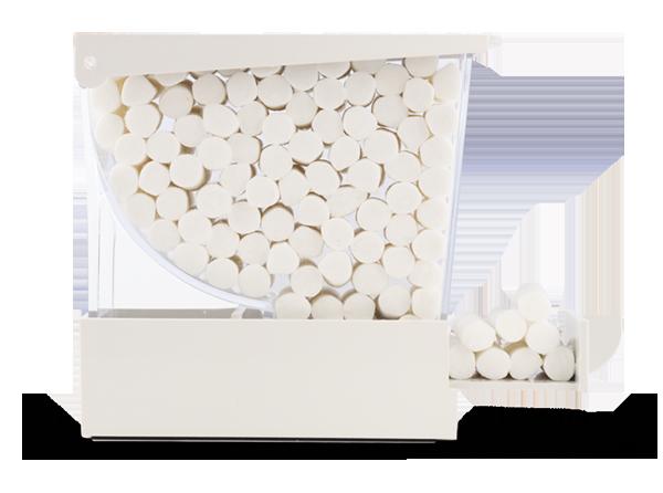 Cotton Rolls Dispenser