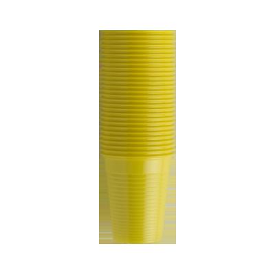 bicchieri monouso gialli