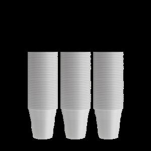 bicchieri plastica bianchi