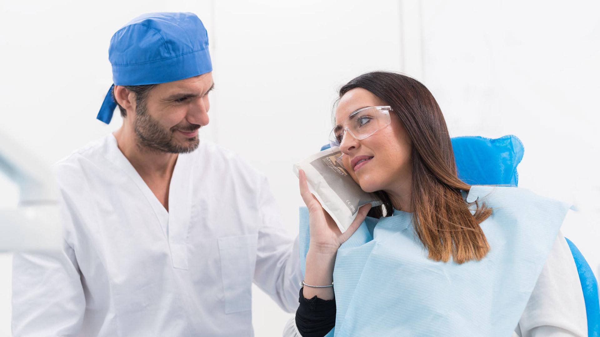 Ghiaccio istantaneo dentisti
