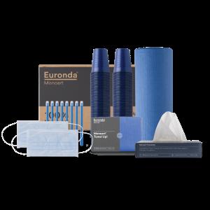 kit Monoart 100% blue